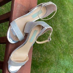 Betsey Johnson Stack Heels